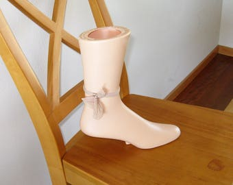 Vintage Advertising Mannequin Foot for Shoe Store, Shoe Display, Use for Photo Prop, to Display Anklets, etc