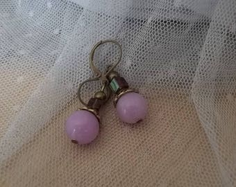 PE32 - earrings - pearls of Oléron Collection-
