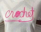 Crochet Tshirt - Gift for...