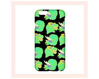 Dinosaur iPhone Case-90s iPhone Cover-90s Pattern-Dinosaur-iPhone Case-iPhone Case For Guy