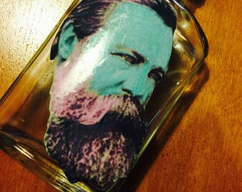 Friedrich Engles Flask *IN COLOR*
