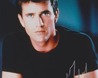 Mel Gibson Original Vintage Hand Signed 8X10 Autograph Photo
