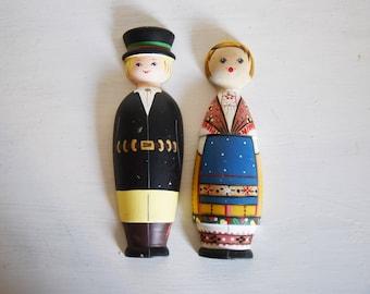 Kasitoo hand painted Wood Figurine