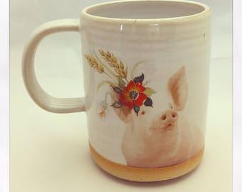 Talk to the Animals- Limited Edition Pig Mug