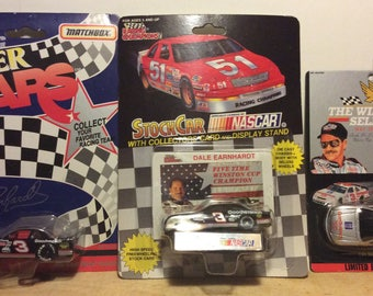 Dale Earnhardt Collectible Race Cars 1991-1995