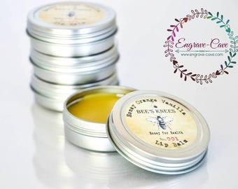 Beeswax, Lip Balm, Honey, Orange Vanilla