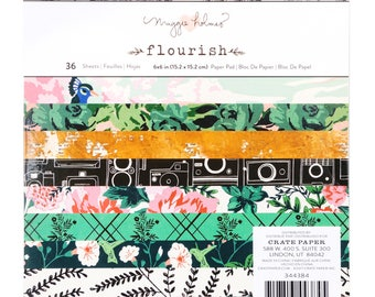 Flourish by maggie holmes 6x6 paper pad
