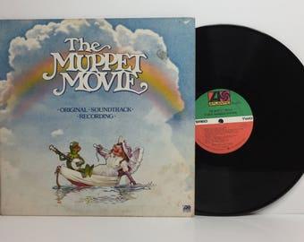 """The Muppet Movie-Original Soundtrack 12"""" vinyl record album LP"""