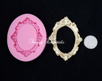 Victorian Oval Frame Mold