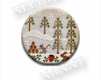 "ZAPPY DOTS ""Snowy Friends"" 