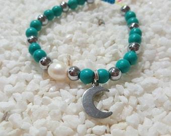 My little moon bracelet