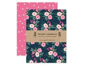 Beautiful Bouquets - Pocket Journal Set of 2