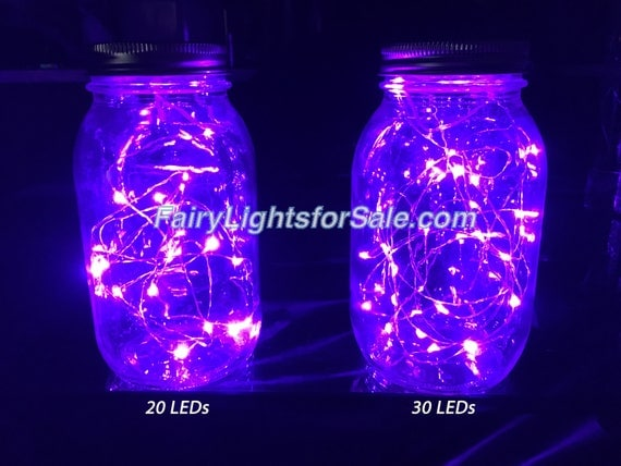 Fairy Moon Led String Lights Tiny Battery Pack : 3m/9.8ft 1 set 30 micro LED fairy lights string CR2032 button battery for DIY, centerpiece, vase ...