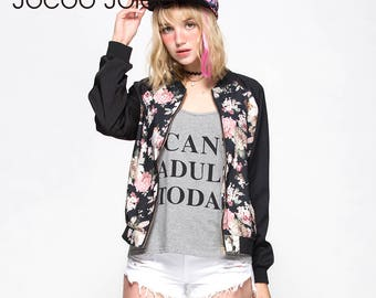 Womens Floral Sports Jacket