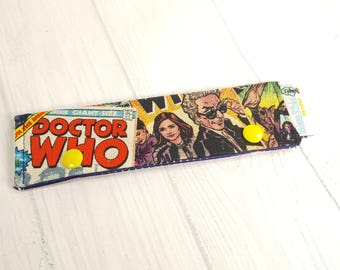"Doctor Who Comics Short Needle Cozy DPN Holder, project holder 7""x2""- (Hold up to 6"" Needles) NCS0040"