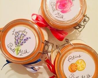 Luxurious Cleopatra Bath Milk - choice of scents!