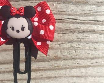 Tsum Tsum Minnie Disney Bow Planner Clip