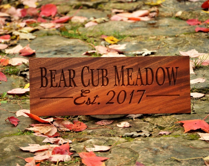 Personalized Wood Sign Custom Wood Signs Unique Wedding Gifts for Couples Wood Anniversary Gifts 5 Year Anniversary Custom Carved Signs