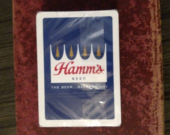 Hamms Beer Playing Cards