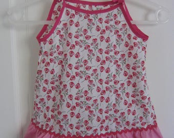 baby dress in liberty