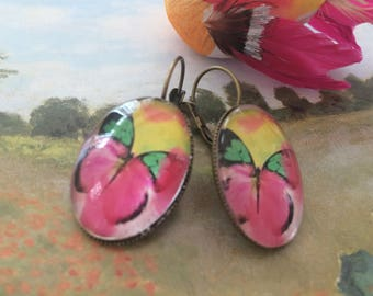 Earrings ' ear Stud Earrings butterflies
