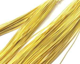 10 CM STRAND OF BULLION GOLD COUTURE 1.5 MM