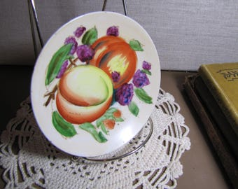 Small Decorative Hand Painted Plate - Fruit and Berries
