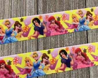 Pink Princess Ribbon, Cinderella Ribbon, Princess Ribbon