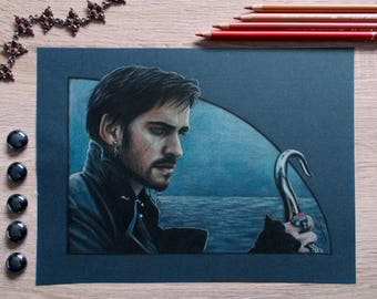 Captain Hook - original drawing