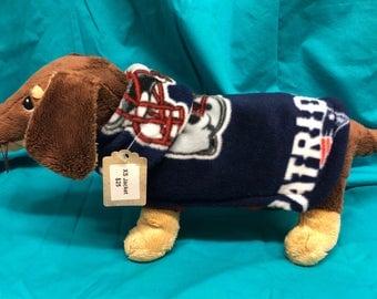 XS Dog Jacket (Patriots NFL)