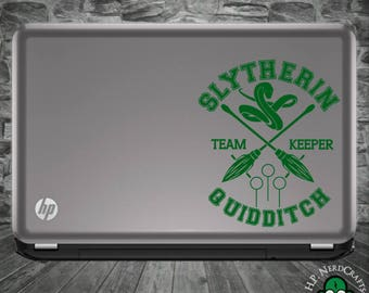 Slytherin Quidditch Decal