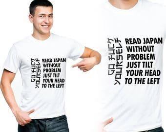 Read Japan Shirt, Wording Shirt, T-Shirts, Tees, Gift for men, Gift For Him, Gift For Her, Funny Shirts, Custom Shirt, Vinyl