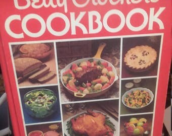 Vintage 1978 Betty Crocker's Cookbook book is work with some pages taped together