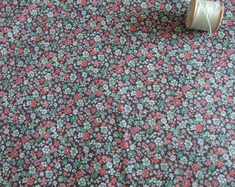 vintage Liberty, tana lawn, ditsy, floral, dressmaking fabric, craft supplies, quilting,