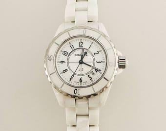 Authentic Chanel J12 Ceramic Swiss Made Watch LG.15463