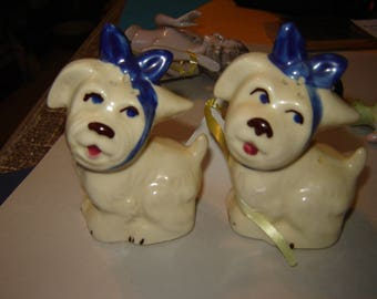 Shawnee pottery USA  Muggsey salt and pepper shakers.