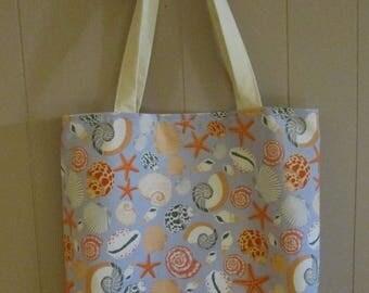 Summer Tote Bag, Beach Bag, Grocery bag, Shopping Bag,Totes,Vacation Bag, Craft bag, Diaper bag, Kids Bags, Cruise Bag, Nautical,Gift Bag
