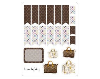 "LovedbyGaby stickers ""Chanel & LV"""