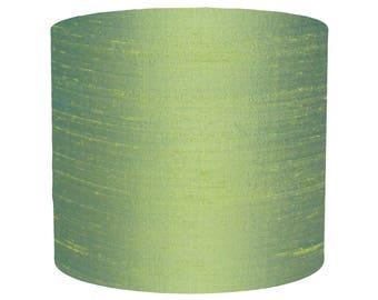 Green Silk Dupion Lampshade