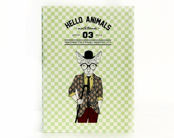 Hello Animals 03 | Hat Cat