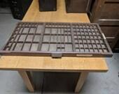 Hamilton MFG Co. Letterpress Typeset Drawers USPS