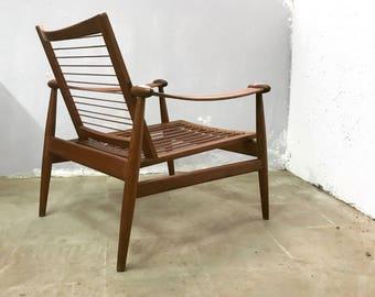 Finn Juhl armchairs Original Danish design years 50