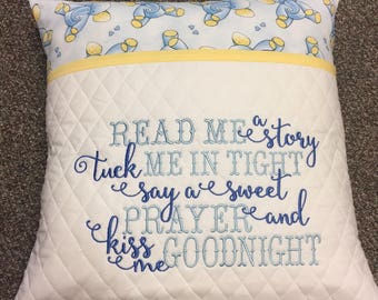 Reading Pillow Prayer