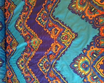 Fabric pattern multicolored Polyester lining