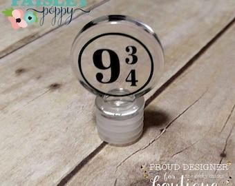 Platform 9 3/4 Acrylic Wine Stopper Harry Potter King's Cross
