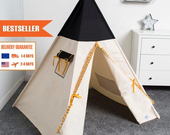 indian teepee, kids play tent, tipi, tente indienne, tente de teepee, tipi pour enfant, honey