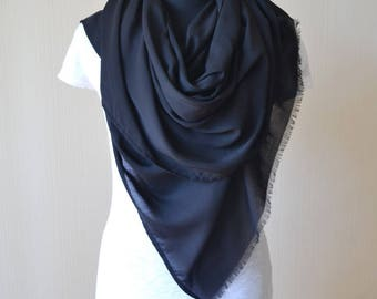 black scarf|outdoors gift|wife gift|for|wife|husband gift|for|husband|cotton scarf|womens scarves|fashion scarf|mens scarf|minimalist gift