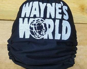 Wayne's World OS Cloth Diaper