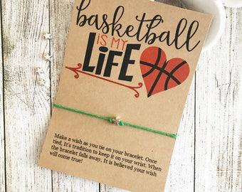 Basketball Team Gift, Basketball Player Gift, Basketball Party, Basketball Party Favors, Basketball Bracelet, Girls Basketball Gifts