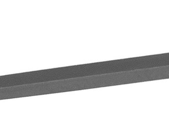 Glardon® Vallorbe Swiss Three Square File Various Lengths and Cut Sizes Jewelry Making Metal Filing - LP1360